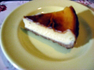チーズケーキ試作