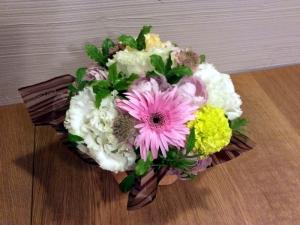 5周年に頂いた花